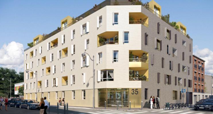 Aubervilliers programme immobilier neuf «  n°215401 » en Loi Pinel