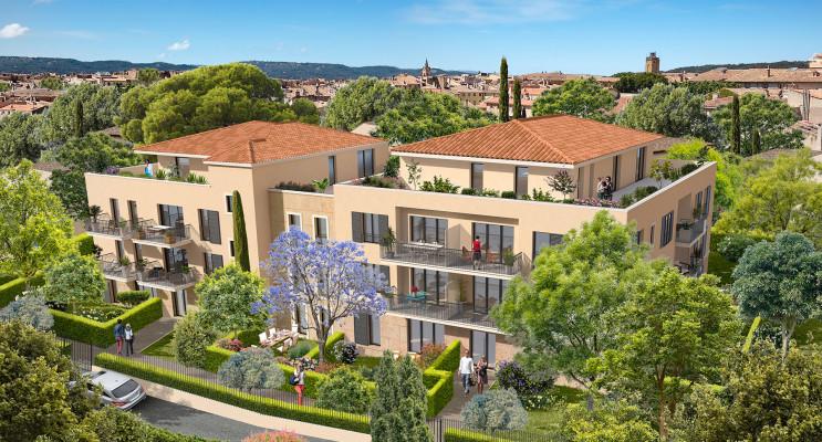 Aix-en-Provence programme immobilier neuf « Cœur Aixois » en Loi Pinel