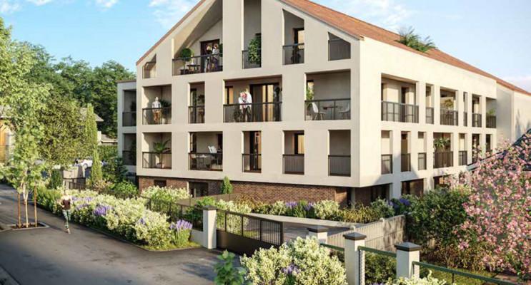 Melun programme immobilier neuf « Le Jardin Senon » en Loi Pinel