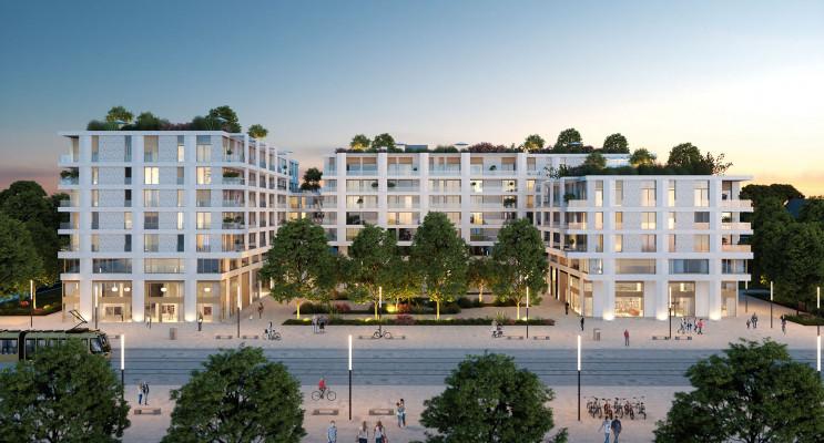 Montpellier programme immobilier neuf « Faubourg 56 » en Loi Pinel