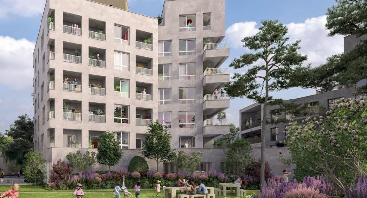 Nantes programme immobilier neuf « Triptiq » en Loi Pinel