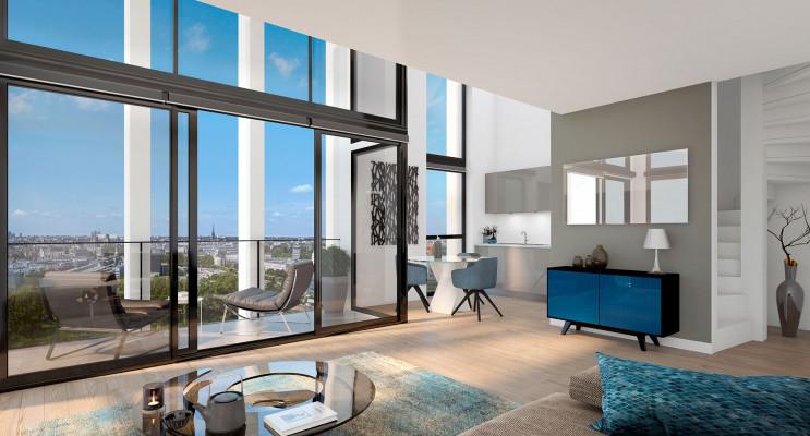 Nantes programme immobilier neuf « Skyhome » en Loi Pinel