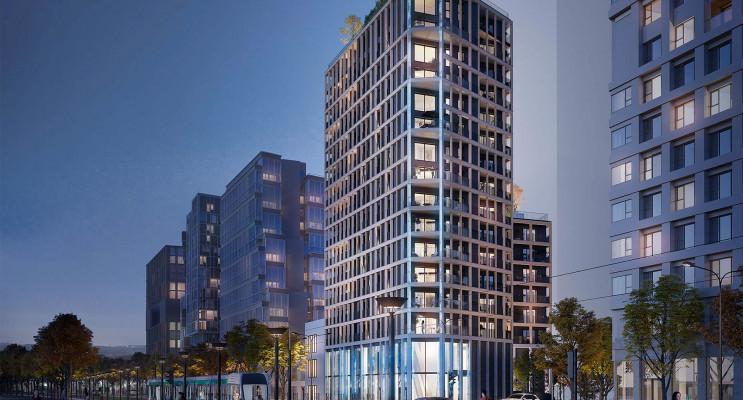 Paris programme immobilier neuf « Le Berlier » en Loi Pinel
