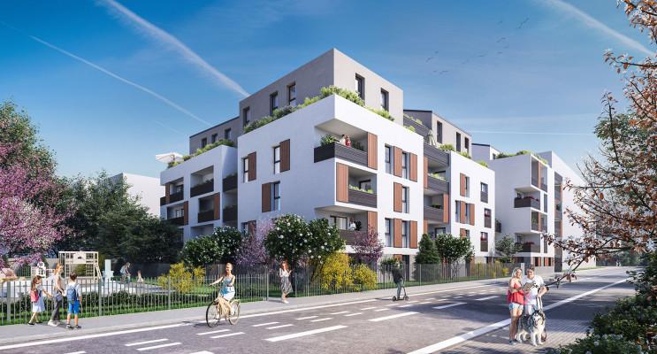 Villeurbanne programme immobilier neuf « Les Galleries Perroncel » en Loi Pinel