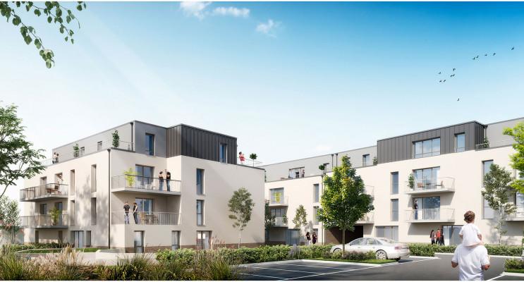 Amiens programme immobilier neuf « Coeurville » en Loi Pinel