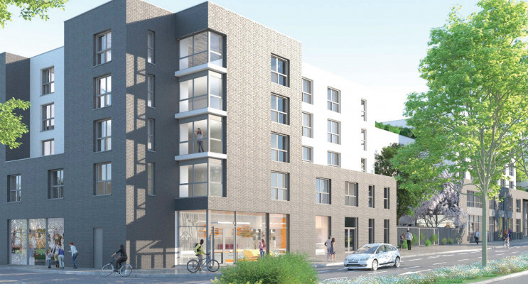 Arras programme immobilier neuf « Base Camp »