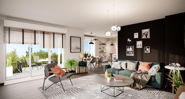 Bezons programme immobilier neuf « Prisme » en Loi Pinel