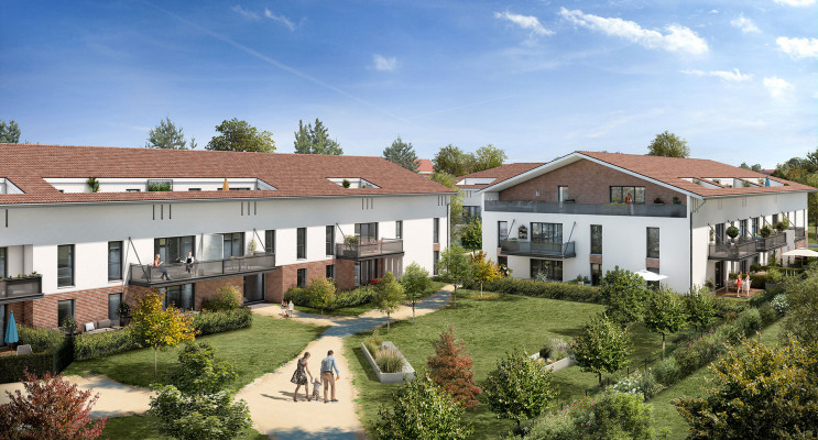 Castanet-Tolosan programme immobilier neuf « Le Millésime » en Loi Pinel