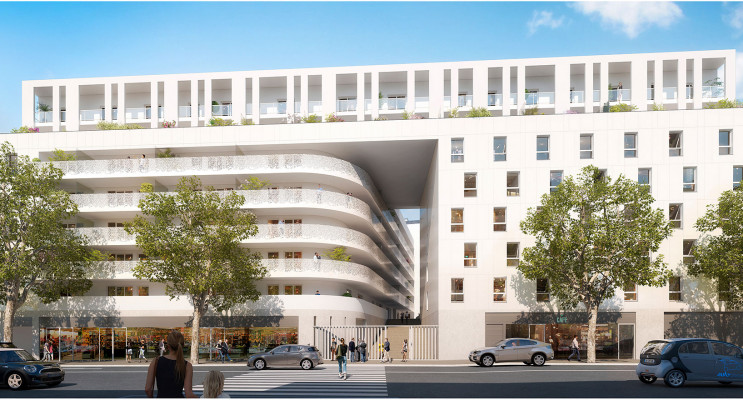 Nice programme immobilier neuf « Eden Roch Plaza »