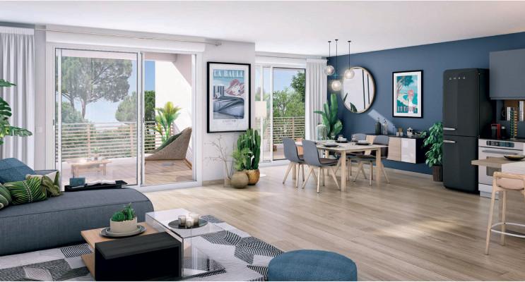 La Baule-Escoublac programme immobilier neuf « Domaine du Bois Robin » en Loi Pinel