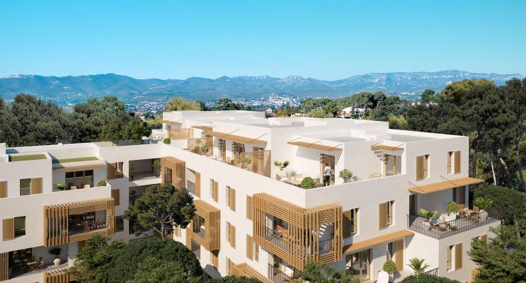 Marseille programme immobilier neuf « Villa Bianca » en Loi Pinel