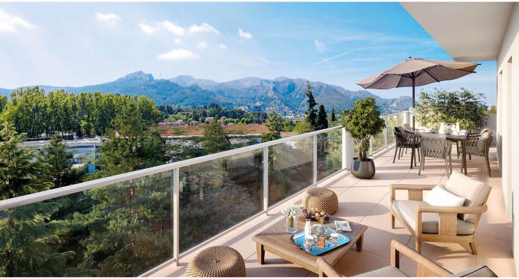 Marseille programme immobilier neuf « Les Jardins des Accates » en Loi Pinel