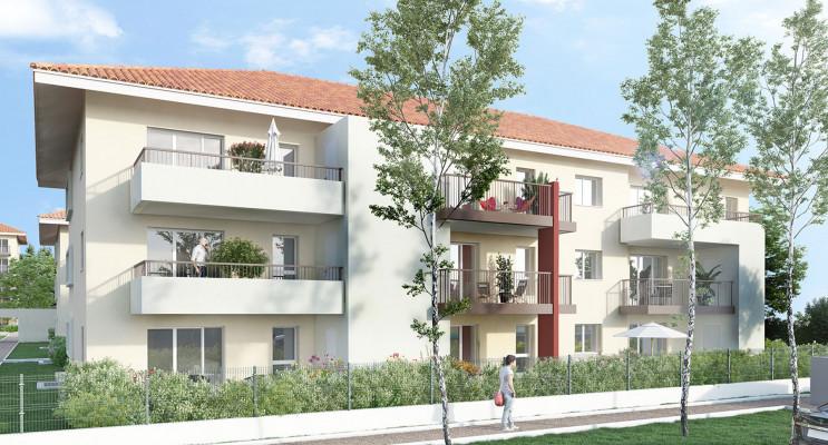 Albertville programme immobilier neuf « Le Domaine de l'Arly » en Loi Pinel