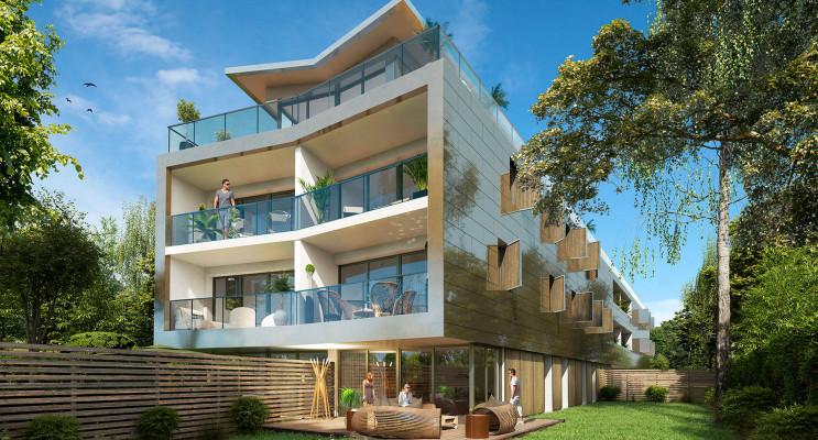 Bordeaux programme immobilier neuf « Éclat de Vert » en Loi Pinel