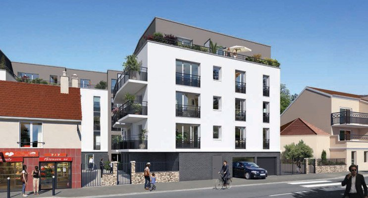 Trappes programme immobilier neuf «  n°216223 » en Loi Pinel