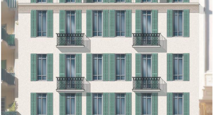 Nice programme immobilier à rénover « Coeur Delille » en Loi Pinel ancien