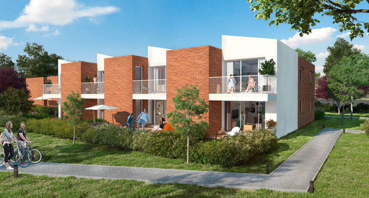 Toulouse programme immobilier neuf « Cosmo » en Loi Pinel