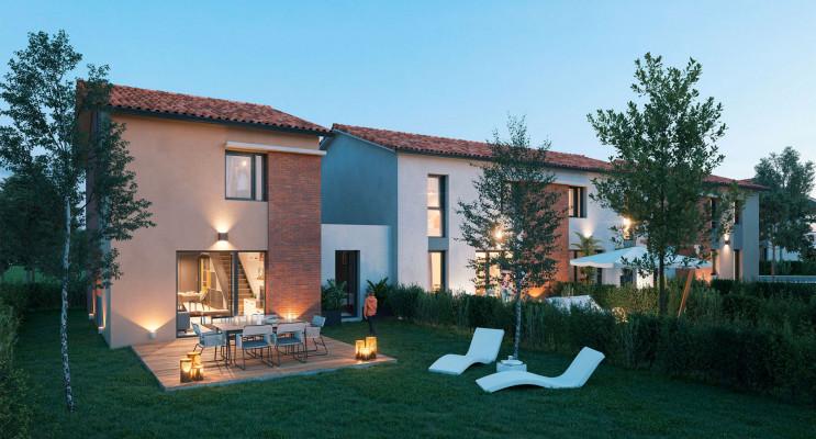 Brax programme immobilier neuf « Domaine Villas Rosa » en Loi Pinel