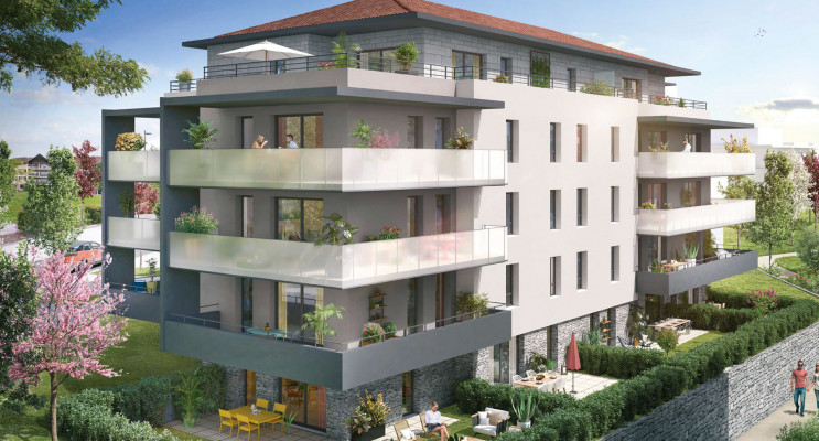 Allonzier-la-Caille programme immobilier neuf «  n°216335 » en Loi Pinel
