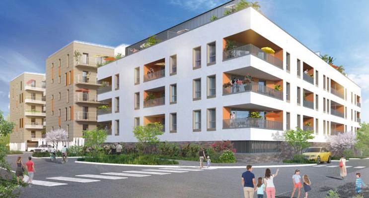Rouen programme immobilier neuf « Villa Garance » en Loi Pinel