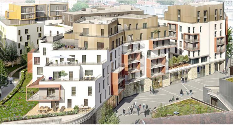 Dijon programme immobilier neuf « AuthentiCité » en Loi Pinel