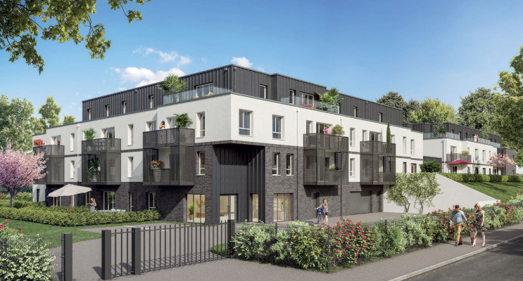 Amiens programme immobilier neuf « Les Rives du Bois » en Loi Pinel