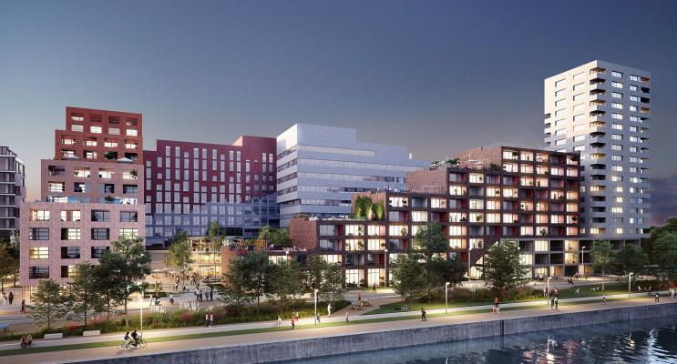 Strasbourg programme immobilier neuf « Quai Starlette II » en Loi Pinel