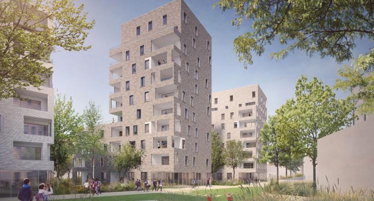 Villeurbanne programme immobilier neuf « N.O.U : Nouvel Opus Urbain » en Loi Pinel