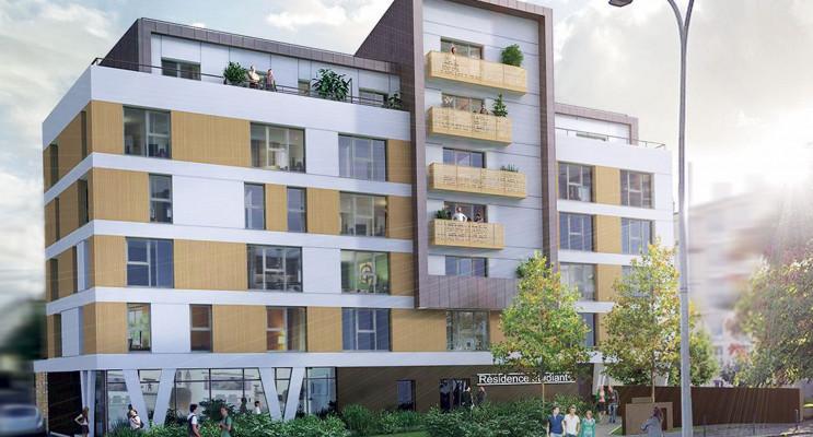 Rennes programme immobilier neuf « My Campus Villejean Université »