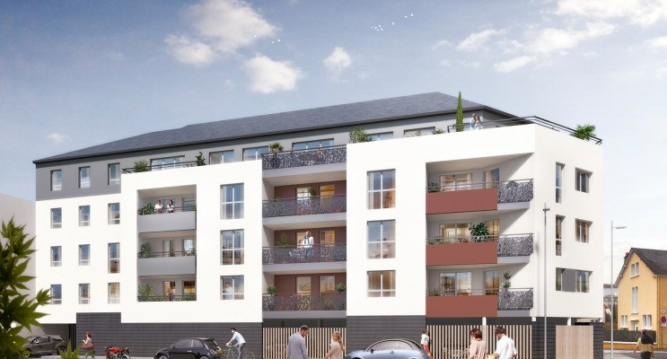 Le Mans programme immobilier neuf « Confluence »