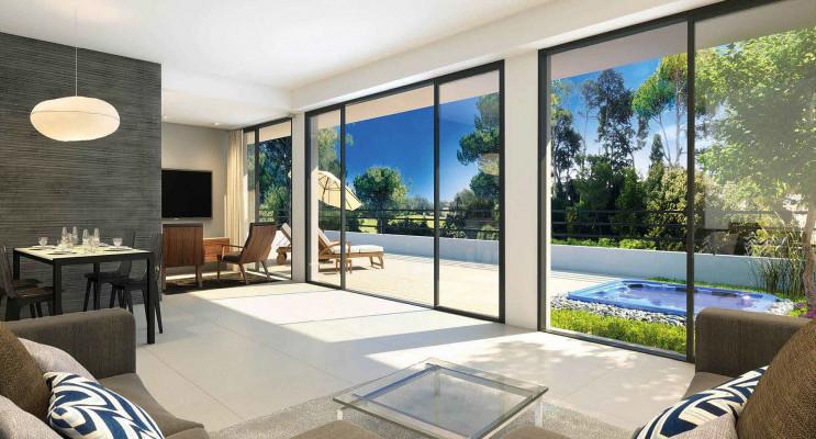 Montpellier programme immobilier neuf « Domaine de Tiara - Ilona » en Loi Pinel