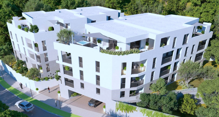 Montpellier programme immobilier neuf « Oréa » en Loi Pinel