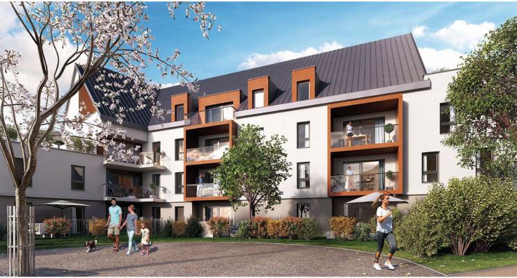 Chenôve programme immobilier neuf « Median » en Loi Pinel