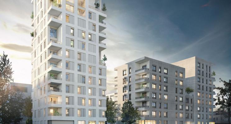 Lyon programme immobilier neuf « Interface » en Loi Pinel