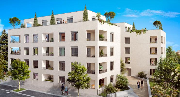 Lyon programme immobilier neuf « Pur Valmy Bat. B » en Loi Pinel