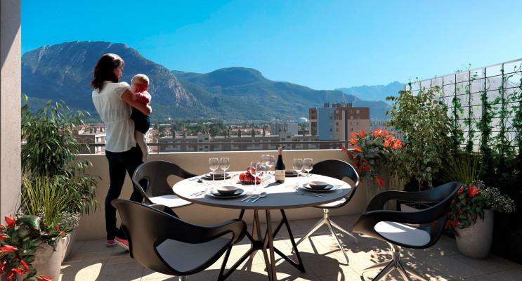 Sassenage programme immobilier neuf « Résidence Vendôme » en Loi Pinel