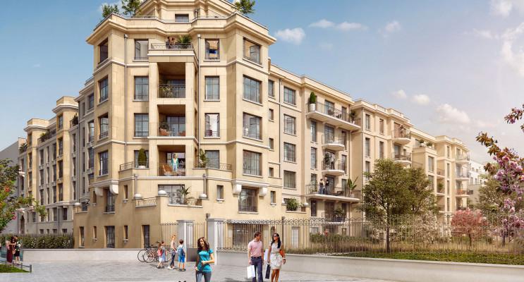 Clamart programme immobilier neuf « Carré d'Eden » en Loi Pinel