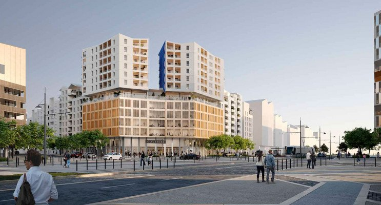 Montpellier programme immobilier neuf « Prism » en Loi Pinel