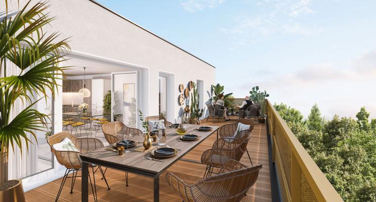 Lormont programme immobilier neuf « Les Brumes de Gua » en Loi Pinel