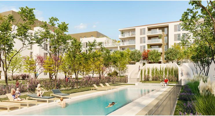 Marseille programme immobilier neuf « Jardin Augustin » en Loi Pinel