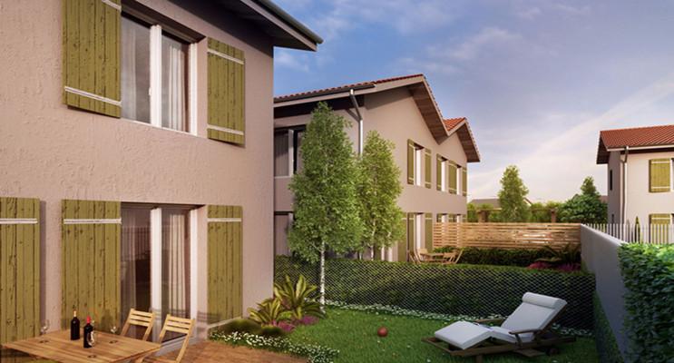 Lyon programme immobilier neuf « Le Clos Bouquet » en Loi Pinel