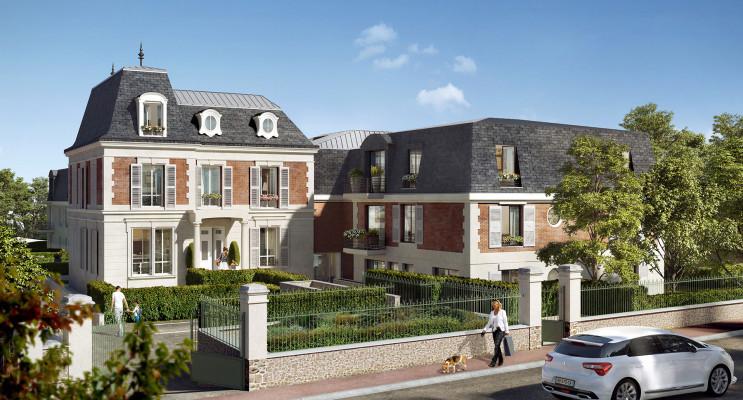 Verneuil-sur-Seine programme immobilier neuf « Villa Verneuil » en Loi Pinel