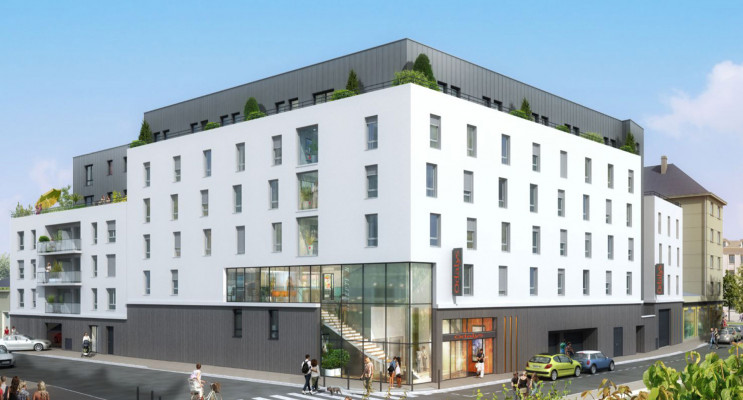 Caen programme immobilier neuf « Résidence Henriette Geffroy »