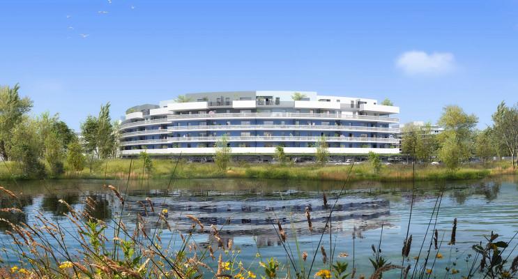 Canet-en-Roussillon programme immobilier neuf « Bleu Odyssée Bât A » en Loi Pinel