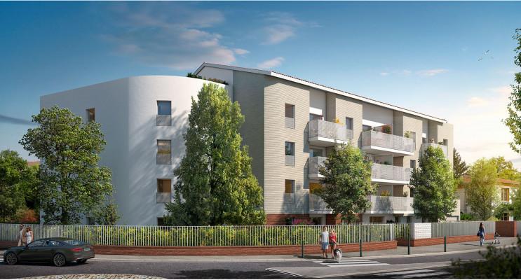 Toulouse programme immobilier neuf « La Parenthèse » en Loi Pinel