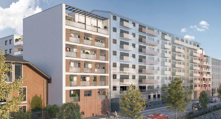 Chambéry programme immobilier neuf « Les Pierres Marines » en Loi Pinel