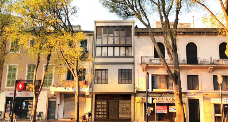 Nîmes programme immobilier à rénover « 76 Boulevard Gambetta » en Loi Malraux