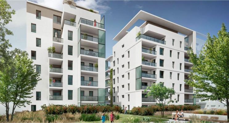 Lyon programme immobilier neuf « Écrin II Lumière » en Loi Pinel
