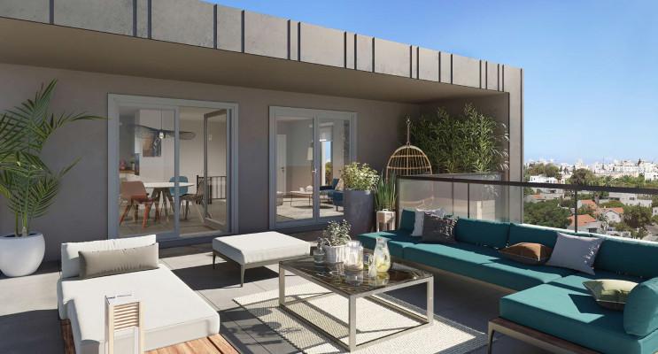 Dijon programme immobilier neuf « Halle 12 » en Loi Pinel