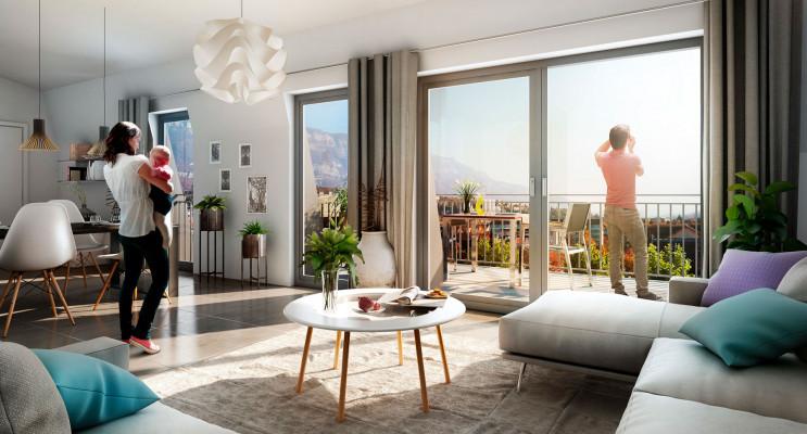 Aix-les-Bains programme immobilier neuf « L'Aixpression » en Loi Pinel
